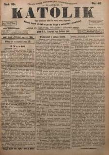 Katolik, 1902, R. 35, nr 40