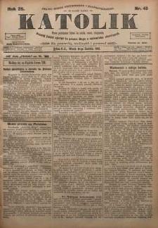 Katolik, 1902, R. 35, nr 45
