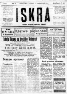 Iskra. Dziennik polityczny, społeczny i literacki, 1918, R. 9, nr 207
