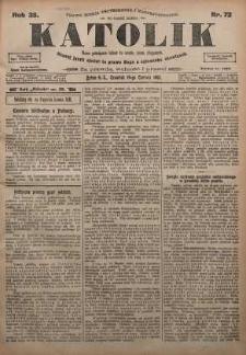 Katolik, 1902, R. 35, nr 72