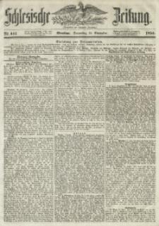 Schlesische Zeitung, 1854, Jg. 113, Nr. 441