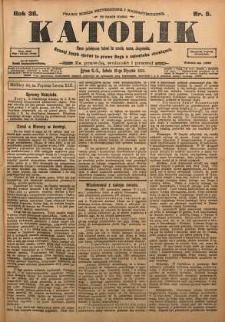 Katolik, 1903, R. 36, nr 5