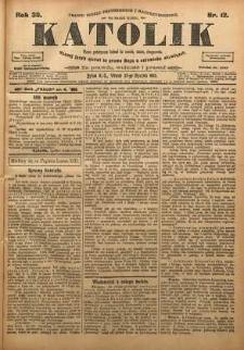 Katolik, 1903, R. 36, nr 12