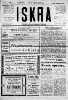 Iskra. Dziennik polityczny, społeczny i literacki, 1919, R. 10, nr 75