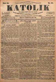 Katolik, 1903, R. 36, nr 37