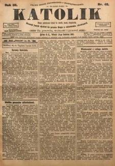 Katolik, 1903, R. 36, nr 48