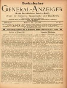 Technischer General-Anzeiger für den Oberschlesischen Industrie-Bezirk, 1896, Jg. 2, No. 19