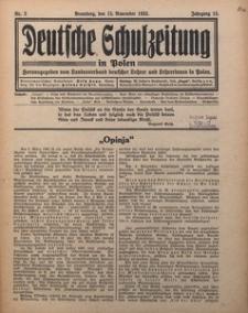 Deutsche Schulzeitung in Polen, 1932/1933, Jg. 13, Nr. 2