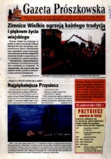 Gazeta Prószkowska : pismo miłośników Prószkowa 2003, nr 3 (3).