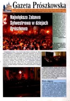 Gazeta Prószkowska : pismo miłośników Prószkowa 2004, nr 1 (6).