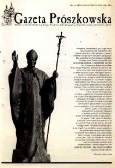 Gazeta Prószkowska : pismo miłośników Prószkowa 2005, nr 4 (21).