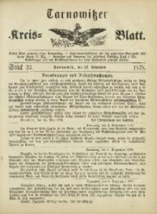 Tarnowitzer Kreis-Blatt, 1878, Stück 37