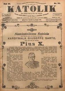 Katolik, 1903, R. 36, nr 94