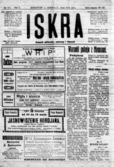 Iskra. Dziennik polityczny, społeczny i literacki, 1919, R. 10, nr 105