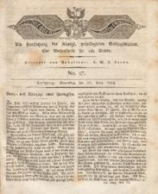 Der Bote aus dem Riesen-Gebirge, 1824, Jg. 12, No. 17