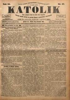 Katolik, 1903, R. 36, nr 117