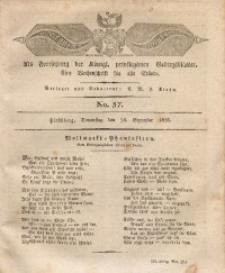 Der Bote aus dem Riesen-Gebirge, 1826, Jg. 14, No. 37
