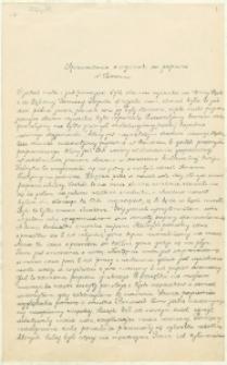 Sprawozdanie z wycieczki do papierni w Sosnowcu