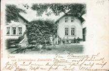 Głubczyce. Dom strzelecki przy skrzyżowaniu ulicy Parkowej i Lwowskiej.
