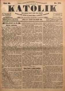 Katolik, 1903, R. 36, nr 133