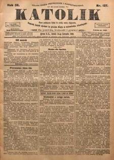 Katolik, 1903, R. 36, nr 137