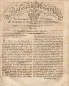 Der Bote aus dem Riesen-Gebirge, 1827, Jg. 15, No. 15