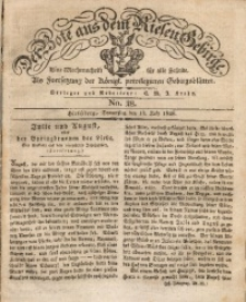 Der Bote aus dem Riesen-Gebirge, 1828, Jg. 16, No. 28