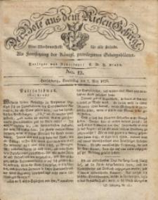 Der Bote aus dem Riesen-Gebirge, 1829, Jg. 17, No. 19