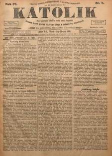 Katolik, 1904, R. 37, nr 5