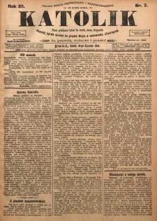 Katolik, 1904, R. 37, nr 7