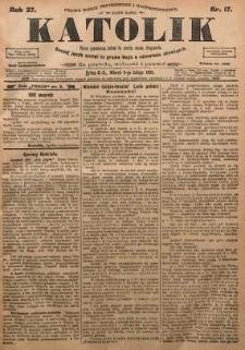 Katolik, 1904, R. 37, nr 17