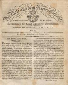 Der Bote aus dem Riesen-Gebirge, 1830, Jg. 18, No. 6