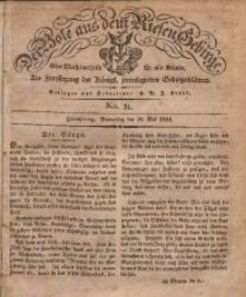 Der Bote aus dem Riesen-Gebirge, 1831, Jg. 19, No. 21