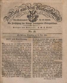 Der Bote aus dem Riesen-Gebirge, 1832, Jg. 20, No. 19