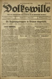 Volkswille, 1919, Jg. 1, Nr. 33
