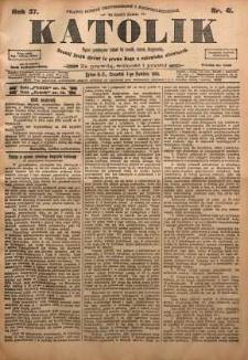 Katolik, 1904, R. 37, nr 41