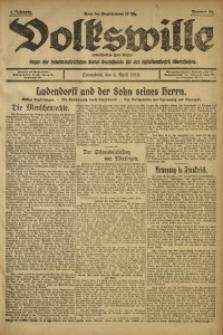 Volkswille, 1919, Jg. 1, Nr. 84