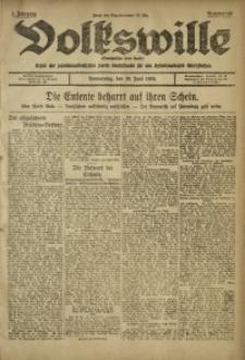 Volkswille, 1919, Jg. 1, Nr. 143