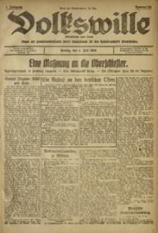 Volkswille, 1919, Jg. 1, Nr. 155