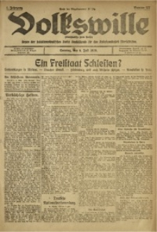 Volkswille, 1919, Jg. 1, Nr. 157