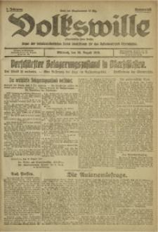 Volkswille, 1919, Jg. 1, Nr. 195