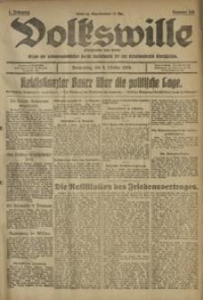 Volkswille, 1919, Jg. 1, Nr. 238