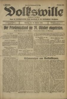 Volkswille, 1919, Jg. 1, Nr. 253