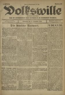 Volkswille, 1919, Jg. 1, Nr. 296