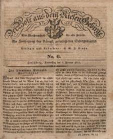 Der Bote aus dem Riesen-Gebirge, 1834, Jg. 22, No. 6