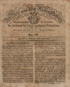 Der Bote aus dem Riesen-Gebirge, 1834, Jg. 22, No. 10