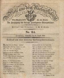 Der Bote aus dem Riesen-Gebirge, 1835, Jg. 23, No. 34