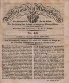 Der Bote aus dem Riesen-Gebirge, 1835, Jg. 23, No. 43