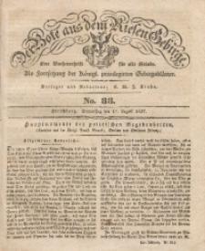 Der Bote aus dem Riesen-Gebirge, 1837, Jg. 25, No. 33