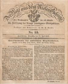 Der Bote aus dem Riesen-Gebirge, 1839, Jg. 27, No. 15